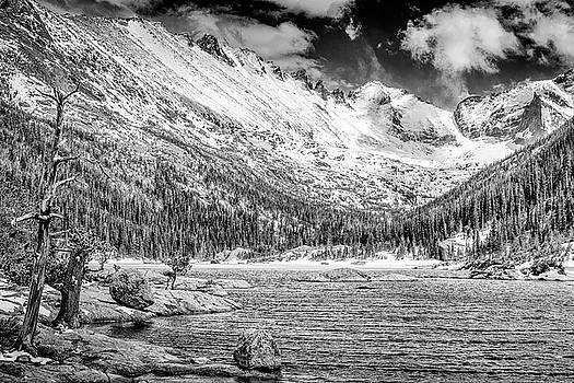 Mills Lake Monochrome by Eric Glaser