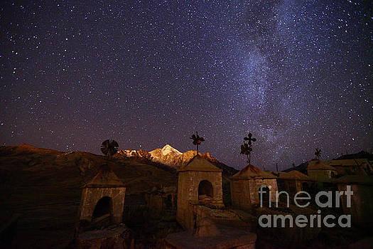 James Brunker - Milluni Cemetery and Night Skies Bolivia