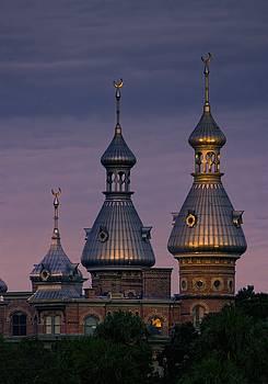 Minarets at Sunset - Henry B. Plant Museum by Chrystyne Novack