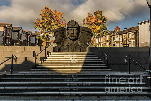 Miners In The Autumn 2 by Steve Purnell