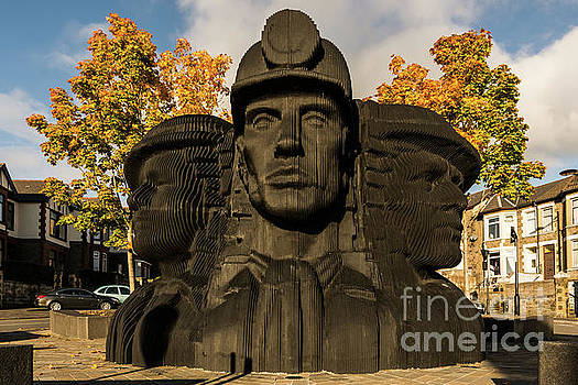 Miners In The Autumn by Steve Purnell