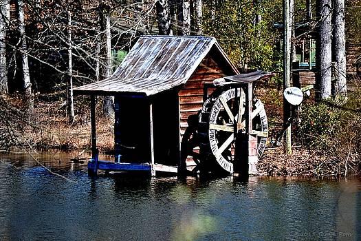 Mini Water Wheel by Tara Potts