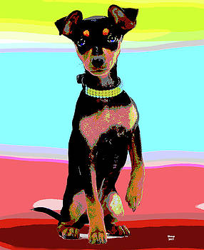 Miniature Pinscher by Charles Shoup