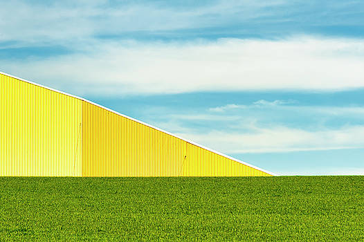 Minimalist Agriculture Landscape by Dee Browning