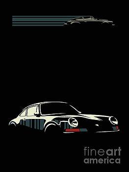 Minimalist Porsche by Sassan Filsoof