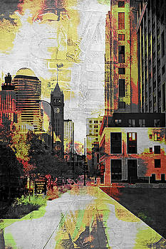 Minneapolis and the Foshay Tower by Susan Stone