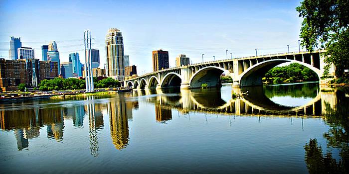Minneapolis Bridge by Laurianna Murray
