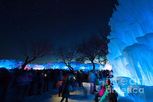 Minneapolis Ice Castles I by Wayne Moran
