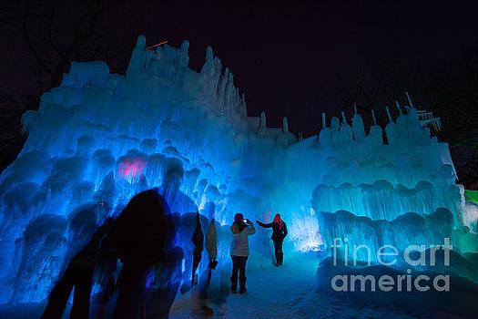 Eden Prairie Ice Castles by Wayne Moran