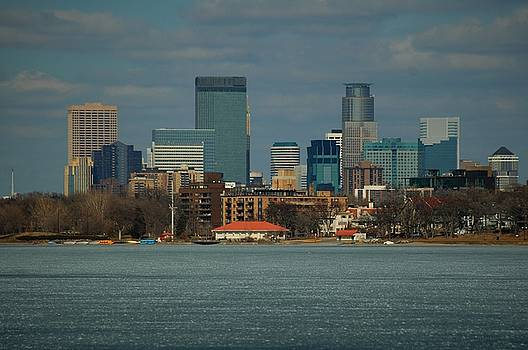 Minneapolis Skyline by Diana Nigon