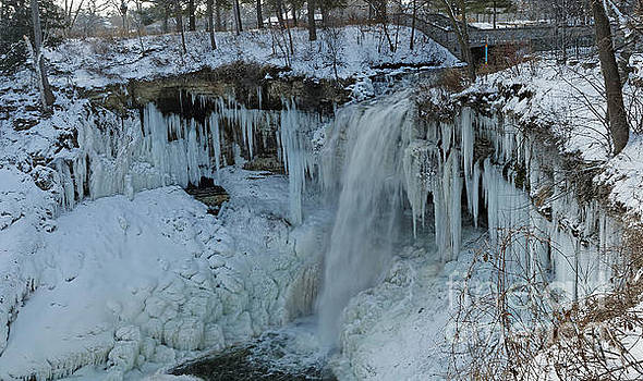 Minnehaha Falls in Winter by Natural Focal Point Photography