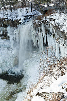 Minnehaha in Winter by Natural Focal Point Photography