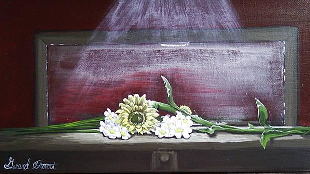 Mirror Flower by Gerard Provost