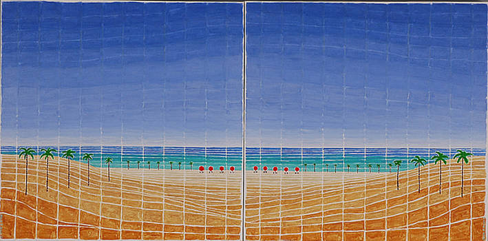 Mirror Twin Beaches by Jesse Jackson Brown