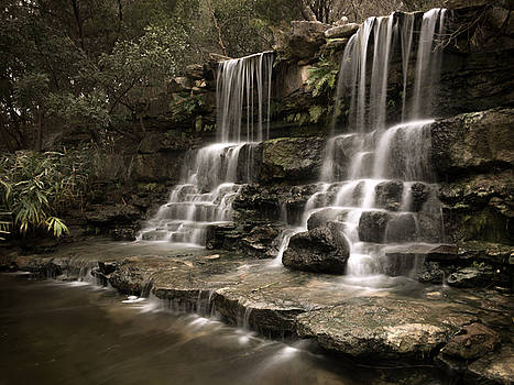Mirrored Falls by Kendall Muyres