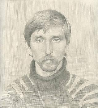 Misha. 1985 by Yuri Yudaev