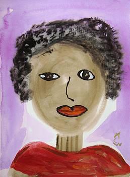 Miss Mary on Purple Lake by Mary Carol Williams
