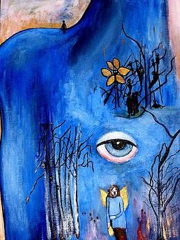 Missing the Blue One by Patricia Velasquez de Mera
