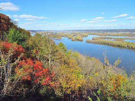 Mississippi River View by Lori Frisch