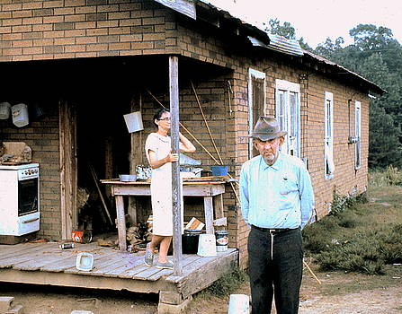 Mississippi Shotgun House 1969 by Jim Harris