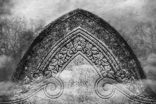Misty Grave bw by Melissa Bittinger