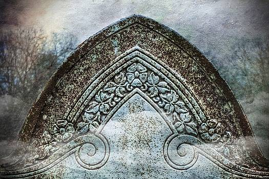 Misty Grave Victorian Headstone by Melissa Bittinger