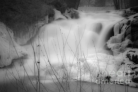 Misty Icy Waterfall by Jim DeLillo