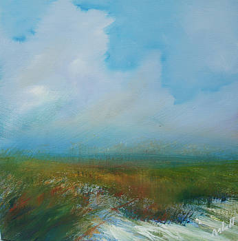 Misty Marsh by Michele Hollister - for Nancy Asbell