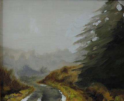 Misty morning, Benevenagh by Barry Williamson