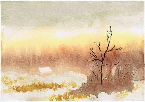 Misty Morning by Charles Snyder
