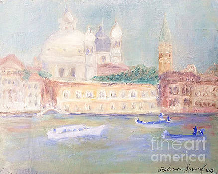 Misty Morning on the Canale Grande by Barbara Anna Knauf