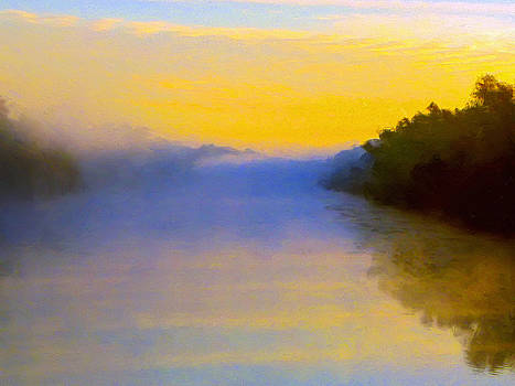 Dominic Piperata - Misty Sunrise on the Bayou