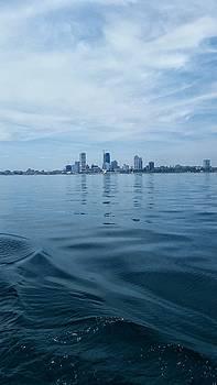 MKE Cityscape by Nikki McInnes