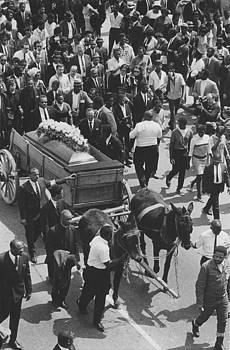 ML King Jr. funeral by Jim Wright