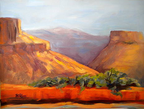 Moab Canyon by Sally Bullers