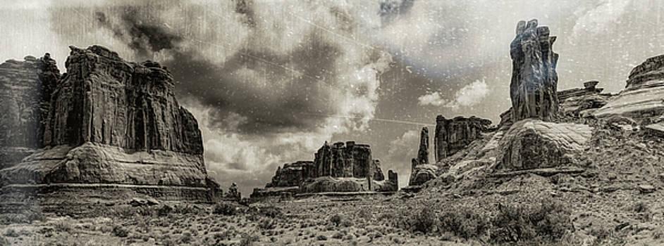Moab Retro Panorama by Art OLena