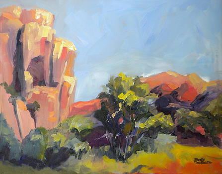 Cliffs of Utah by Sally Bullers