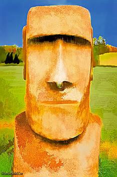 LeeAnn McLaneGoetz McLaneGoetzStudioLLCcom - Moai Head