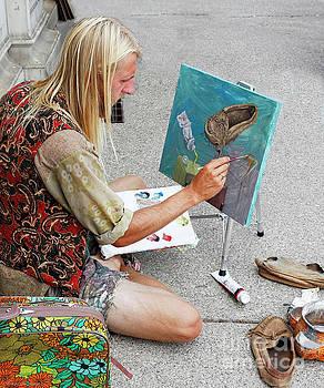 Moccasin Inspiration by Barbara McMahon