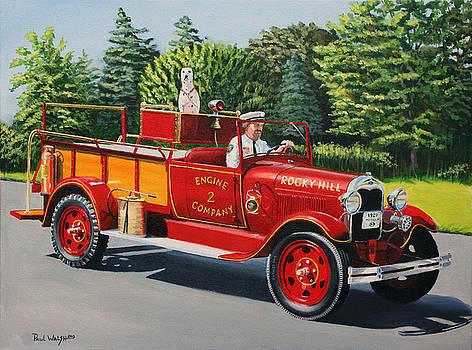 PAUL WALSH - Model A FIRE ENGINE