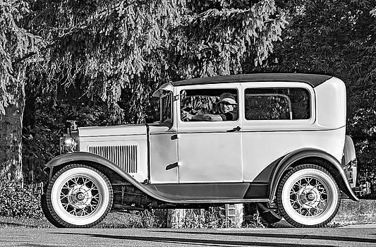 Steve Harrington - Model A Ford bw