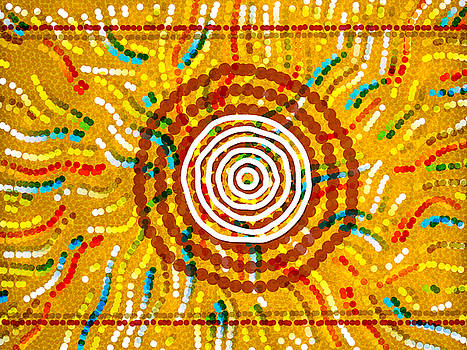 Modern Aboriginal 4 by Gary Grayson