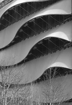 Modern Building in Cardiff, UK by Matthew Bamberg