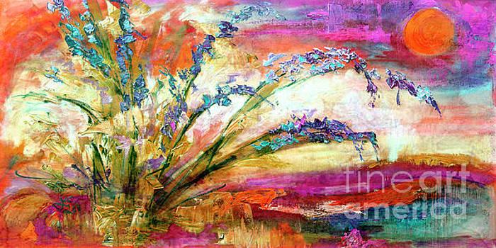 Ginette Callaway - Modern Expressive Floral Landscape