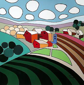 Modern Farm by John Chehak