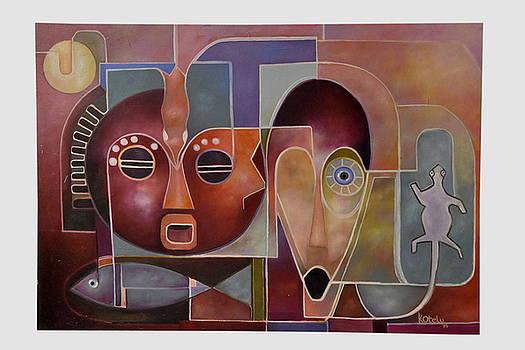 Modern Ritual Remnant 1 by Kenneth Otelu