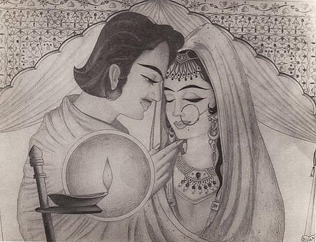 Moghuls Romance by Mohd Raza-ul Karim