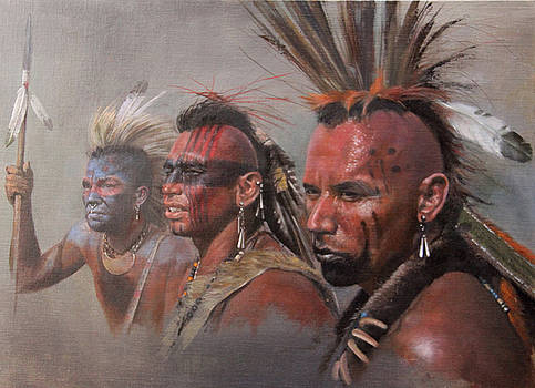 Mohawks by Chris Collingwood
