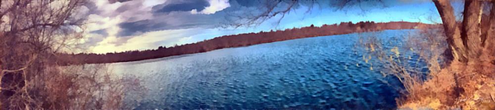 Mohegan Lake Panoramic Lake by Derek Gedney