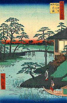 Mokubo Temple 1857 by Padre Art